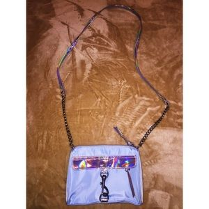 Baby blue holographic Purse